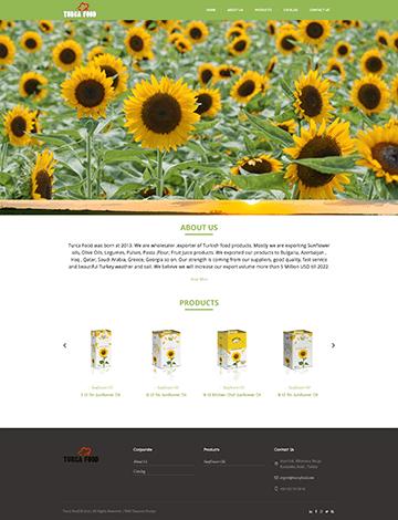 turca food web tasarım